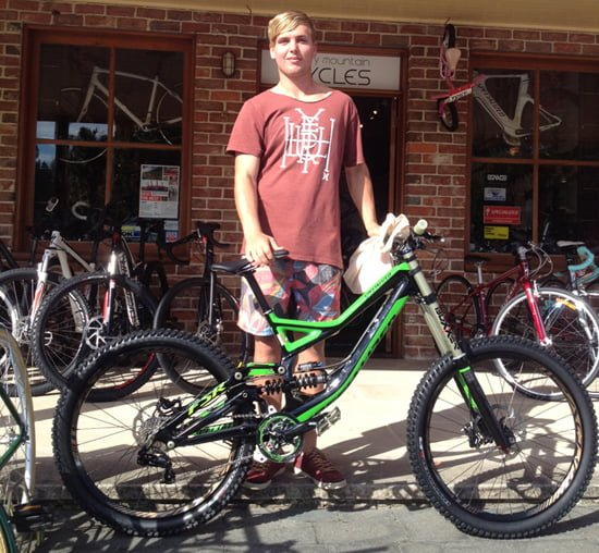 Josh & new bike